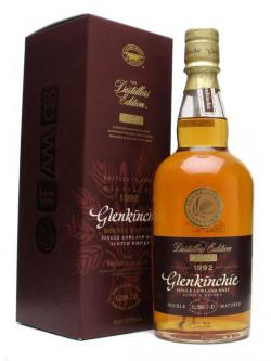 A bottle of Glenkinchie 1992 / Distillers Edition Lowland Whisky
