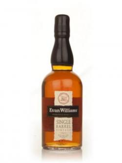 A bottle of Heaven Hill Evan Williams 2003 Single Barrel