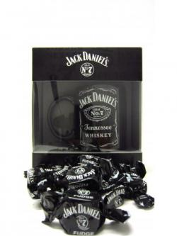Jack Daniels Branded Ceramic Mug Fudge Gift Set