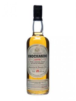 A bottle of Knockando 1972 / Bot.1983 Speyside Single Malt Scotch Whisky