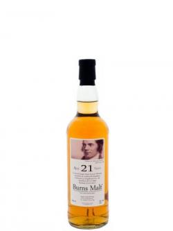 Littlemill 21 Year Old Burns Malt
