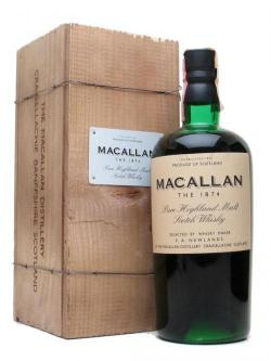 Macallan 1874 Replica Speyside Single Malt Scotch Whisky