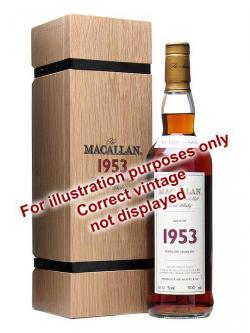 Macallan 1950 / 52 Year Old / Fine& Rare #598 Speyside Whisky
