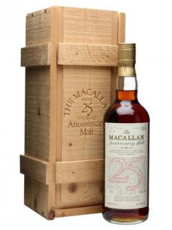 Macallan 1957 / 25 Year Old Speyside Single Malt Scotch Whisky