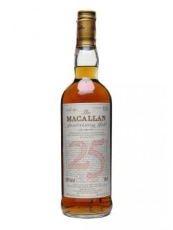 Macallan 1964 / 25 Year Old Speyside Single Malt Scotch Whisky