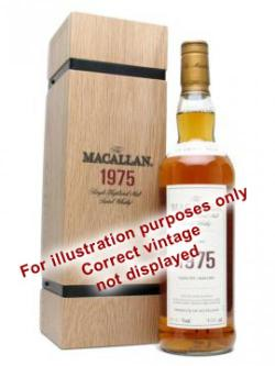 A bottle of Macallan 1971 / 30 Year Old / Fine& Rare #4280 Speyside Whisky