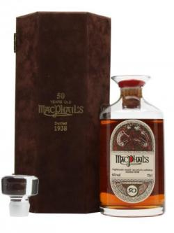 Macphail's 1938 / 50 Year Old / Crystal Decater