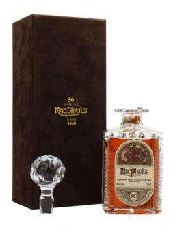 Macphail's 1940 / 50 Year Old / Book of Kells Decanter Single Whisky