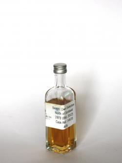 North of Scotland 1973 Berry Bros Cask 14570 Front side