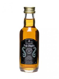 Poit Dhubh 12 Year Old Miniature Blended Malt Scotch Whisky