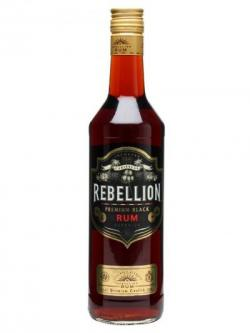 Rebellion Premium Black Rum / 37.5% / 70cl