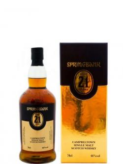 Springbank 21 Year Old 2013 Release