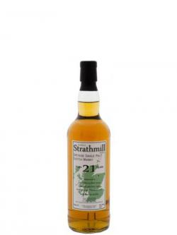 A bottle of Strathmill 21 Year Old Sherry Cask