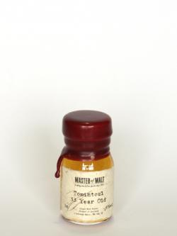 A photo of the frontal side of a bottle of Tomintoul 33 Year Old / Special Reserve Speyside Whisky