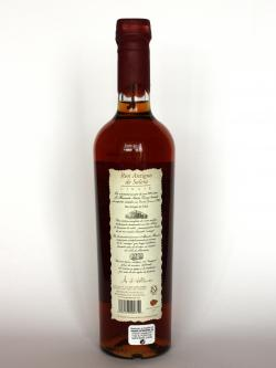Santa Teresa 1796 Ron Antiguo de Solera Back side