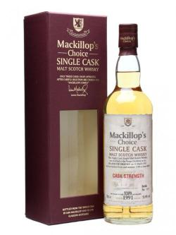 A bottle of Scapa 1991 / 19 Year Old / Cask #1190 / Mackillop's Isla