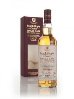 Scapa 1991 (bottled 2013) (cask 1211) - Mackillop's Choice