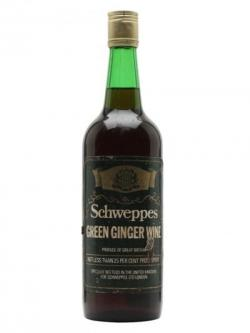 Schweppes Green Ginger Wine / Bot.1980s