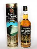 A bottle of Seagram's 100 Pipers Ceuta