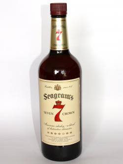 Seagram's Seven Crown Front side