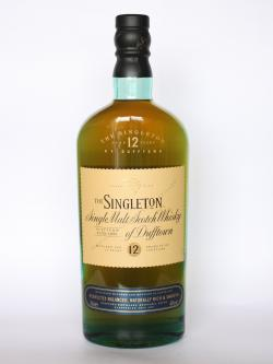 A photo of the frontal side of a bottle of Singleton of Dufftown 12 year