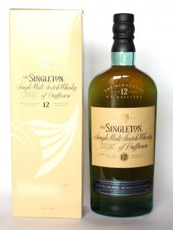 A bottle of Singleton of Dufftown 12 year