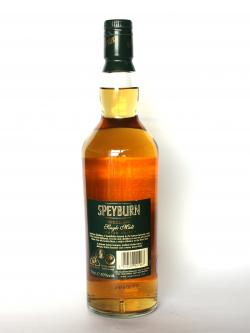 Speyburn 10 year Back side