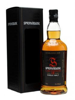Springbank 12 Year Old / Cask Strength / Batch 3 Campbeltown Whisky