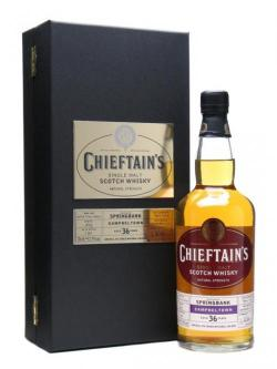 Springbank 1969 / 36 Year Old / Chieftain's Choice Campbeltown Whisky