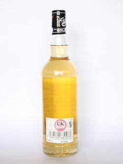 A photo of the back side of a bottle of St George Chapter 9