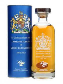 St. George's Distillery / Queen's Diamond Jubilee Decanter English Whisky