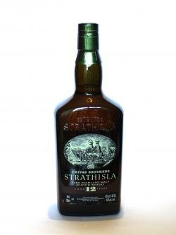A photo of the frontal side of a bottle of Strathisla 12 year