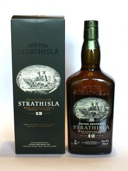 A bottle of Strathisla 12 year