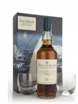 Talisker 10 Year Old and Glasses Gift Pack