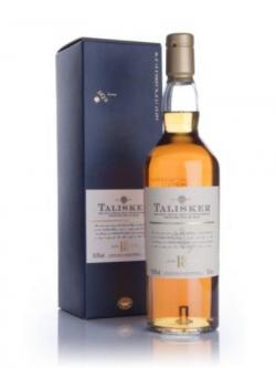 A bottle of Talisker 18 year