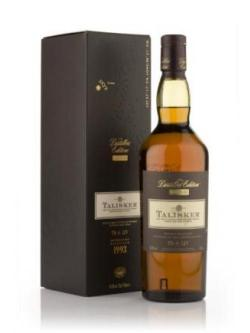 A bottle of Talisker 1993 Amoroso Finish - Distillers Edition