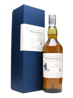 A bottle of Talisker 25 Year Old / Bot. 2008 Island Single Malt Scotch Whisky