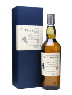 Talisker 25 Year Old / Bot. 2009 Island Single Malt Scotch Whisky