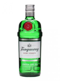 A bottle of Tanqueray (43.1%) Gin