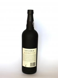 Taylor's 20 Year Old Tawny Port Back side