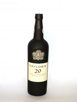 Taylor's 20 Year Old Tawny Port Front side