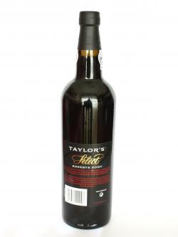 Taylor's Select Reserve Port Back side