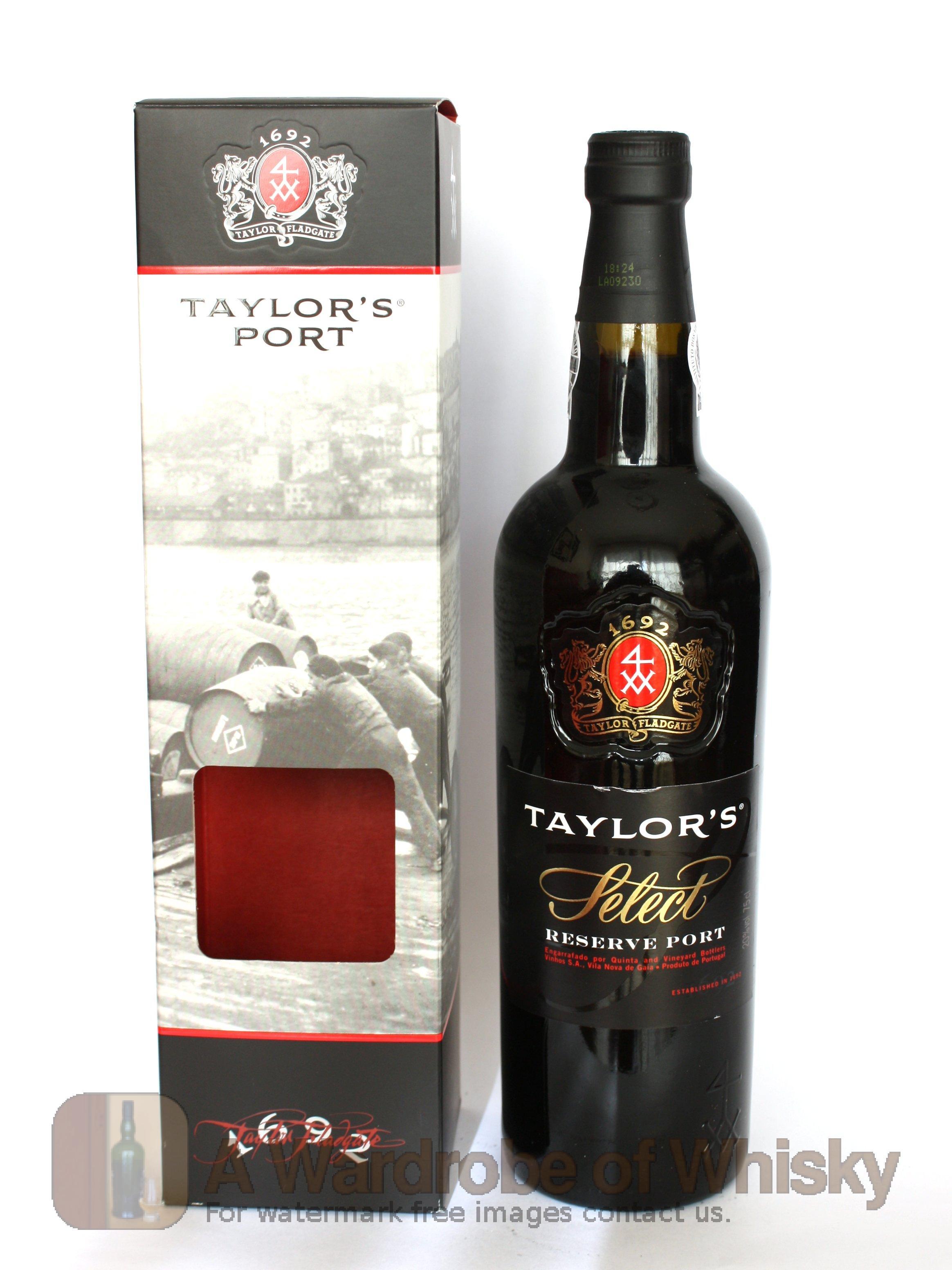 Buy Taylor S Select Reserve Port Wine Taylor S Whisky