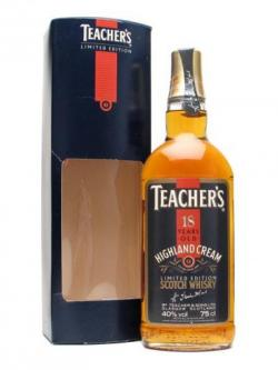 Teacher's 18 Year Old / Bot.1980s Blended Scotch Whisky