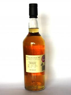 Teaninich 10 year Back side