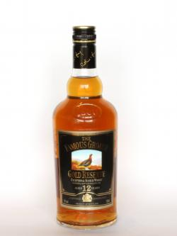 The Famous Grouse 12 year Gold Reserve Front side