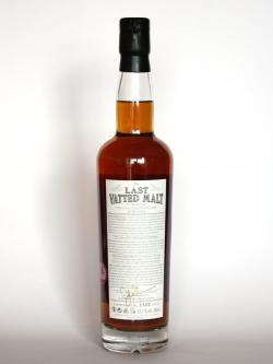 The Last Vatted Malt Back side
