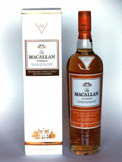A bottle of The Macallan Amber - 1824 Series