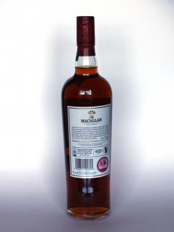 The Macallan Ruby - 1824 Series Back side