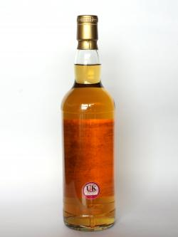 Tomatin 19 year Cask Strengh Single Cask Back side